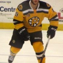 Carter Camper of the Providence Bruins