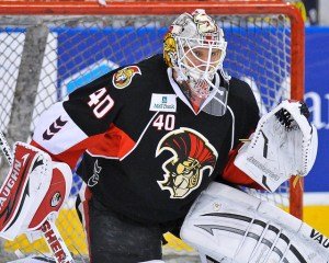 With their team looking good between the pipes, would the Sens give up Lehner for Kessel? Robin Lehner  (inGoal Magazine)