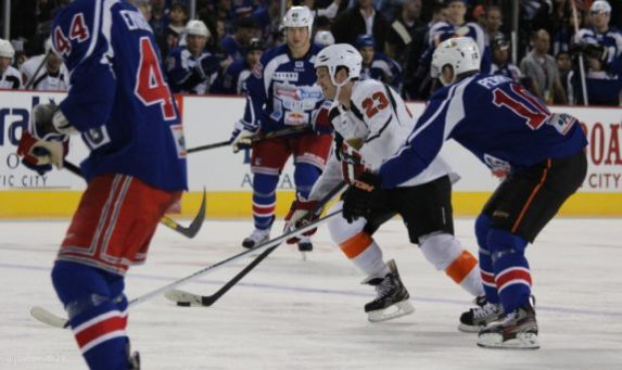David Clarkson did a lot of charitable work in NJ, including Operation Hat Trick during the lockout. (Josh Smith/THW)