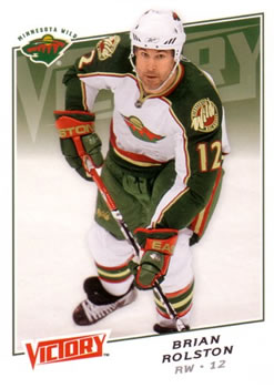 Brian Rolston Minnesota Wild