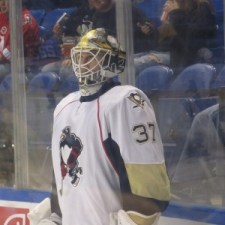 Zatkoff has no NHL experience (Alison Myers/THW)
