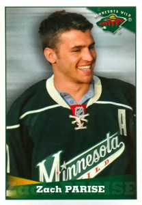 2012-13 Panini Hockey #255 Sticker Zach Parise