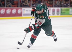 Zucker had to spend much of the season in Houston with the AHL's Aeros (Steven Christy/OKC Barons)