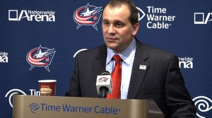 Columbus Coach Todd Richards (Columbus Blue Jackets)