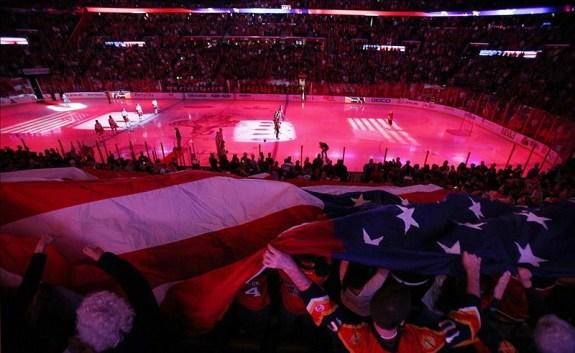Panthers Kick Off the Shortened Season (Robert Mayer-USA TODAY Sports)
