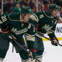 Parise and Suter minnesota hockey