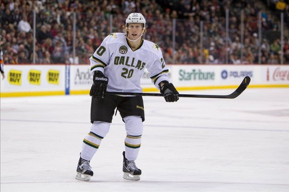 Cody Eakin is one of the many Dallas Stars with WHL ties (Brace Hemmelgarn-USA TODAY Sports)
