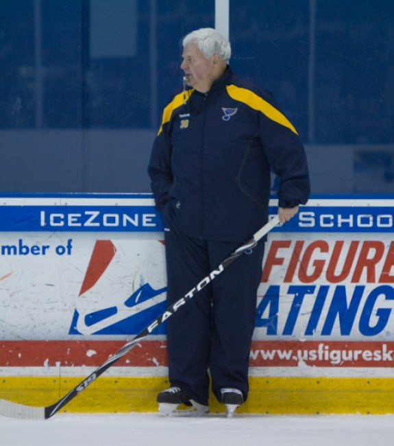 Could Ken Hitchcock be on his way out in St. Louis? (TSN Photography)