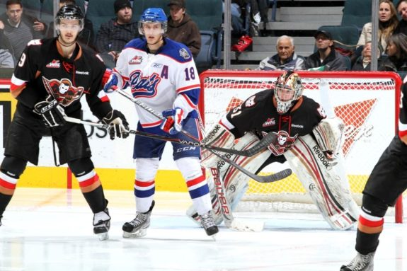 Could Morgan Klimchuk be the new face of the Calgary Flames? (Brad Watson/WHL)