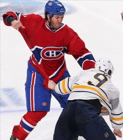 Brandon Prust montreal hockey