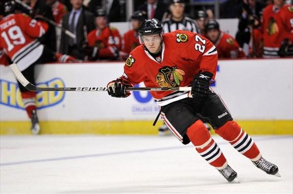 Jeremy Morin Chicago hockey