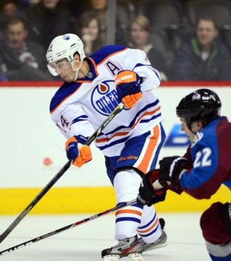 Jordan Eberle has a lot of experience on international ice. (Ron Chenoy-USA TODAY Sports)