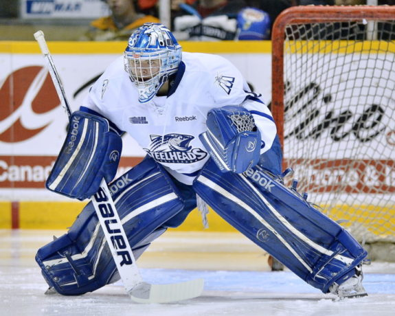 Spencer Martin will likely be targeted in the earlier stages of the 2013 NHL Entry Draft. (Terry Wilson/OHL Images)