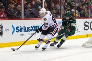 The Wild and Blackhawks will face off this February in the Coors Light Stadium Series. (Brace Hemmelgarn-USA TODAY Sports)