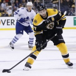 Patrice Bergeron is THW's 2013 Most Outstanding Defensive Forward. (Greg M. Cooper-USA TODAY Sports)