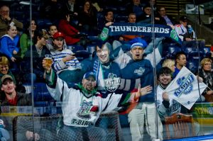 Despite already having a junior hockey team with the same monicker, many fans like 'Thunderbirds' as a team name for a new NHL franchise in Seattle  (Shoot the Breeze Photography)