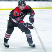Mackenzie Weegar as a member of the Winchester Hawks in 2010-11. (Darren Matte/The Hockey Writers)