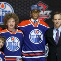 The Oilers took Darnell Nurse with the 2013 7th overall  pick (Ed Mulholland-USA TODAY Sports)