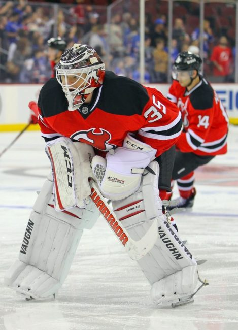 Cory Schneider is going to be wearing red & black for a long time.(Ed Mulholland-USA TODAY Sports)