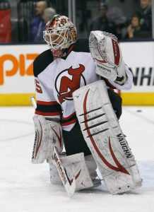 Keith Kinkaid has played with a renewed focus thus far this season for the Albay Devils. (John E. Sokolowski-USA TODAY Sports)