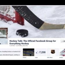 Hockey Talk Facebook group