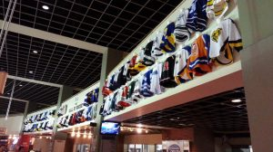 """Nationwide Arena's """"Hall of Hockey"""" features every high school jersey worn in the State of Ohio"""