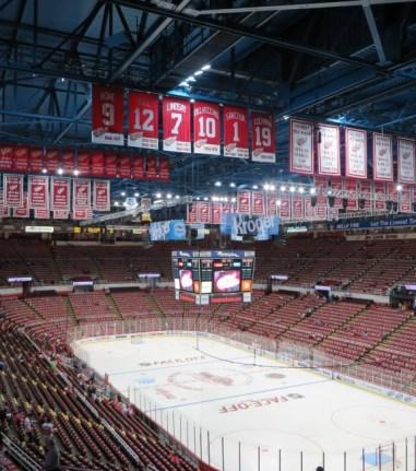Joe Louis Arena, Detroit Red Wings, Hockey, NHL