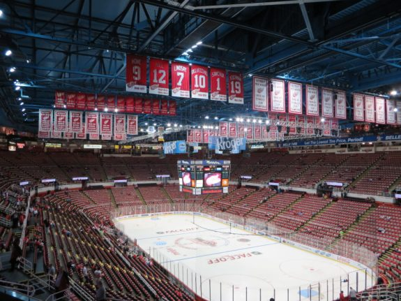 Joe Louis Arena, Detroit Red Wings, Hockey, NHL
