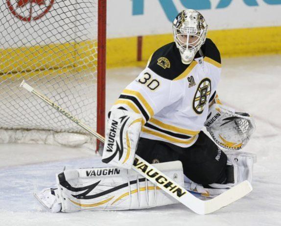 Chad Johnson Boston Bruins, Lack
