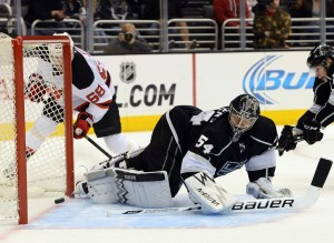 Scrivens has continued the recent history of goaltending excellence in Los Angeles. (Jayne Kamin-Oncea-USA TODAY Sports)