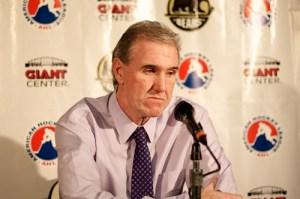 Hershey Bears head coach Mike Haviland (Annie Erling Gofus/The Hockey Writers)