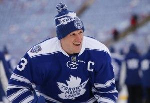 Dion Phaneuf, Winter Classic, Hockey, NHL, Toronto Maple Leafs