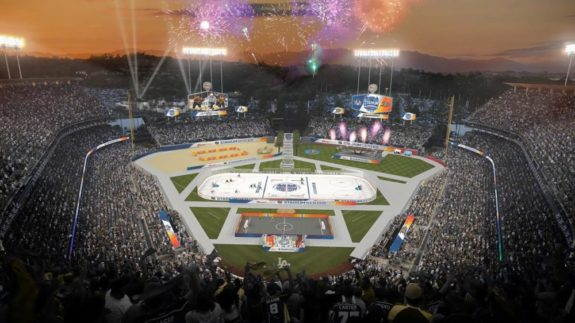 Dodger Stadium NHL