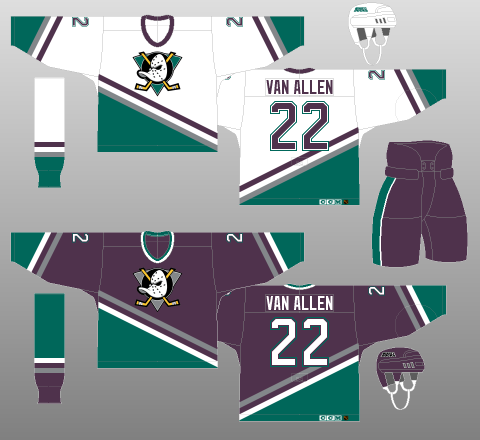 Mighty Ducks Jerseys