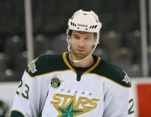 Travis Morin and teammate Colton Sceviour (not pictured) are two of the players who make the Stars an AHL powerhouse. (Texas Stars Hockey)