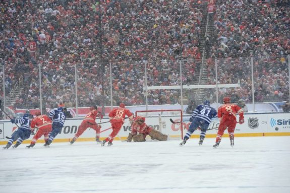 Gary Bettman launched the outdoor games