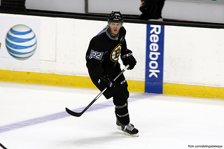 Providence Bruins forward Nick Johnson has had a solid season with 38 points on the year. (slidingsideways/Flickr Creative Commons)