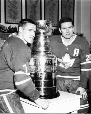Tim Horton, Toronto Maple Leafs, Allan Stanley, Stanley Cup