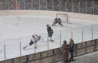 Frozen Cup Slap Shot Snow