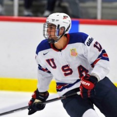 Alex Tuch will attend Boston College this season.