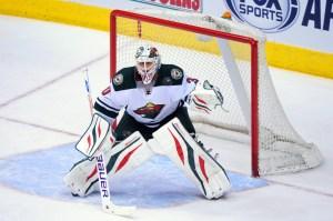 Ilya Bryzgalov having success in a Minnesota Wild uniform