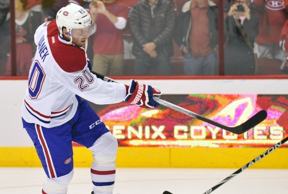 Vanek Canadiens