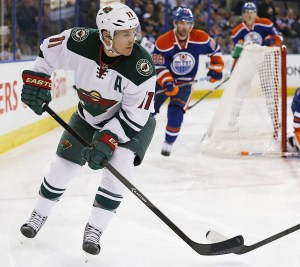 Zach Parise leads the Minnesota Wild in goals with 27 so far this season. (Perry Nelson-USA TODAY Sports)