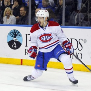 Montreal Canadiens forward Daniel Briere