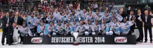 ERC Ingolstadt are 2014 DEL Champions