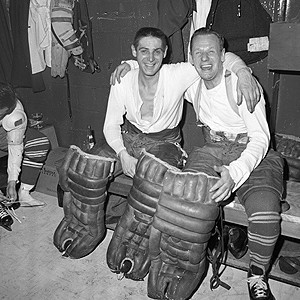 Terry Sawchuk and Johnny Bower.