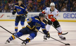 Blues Still Trying to Find Consistency, but Pile On Wins at Home
