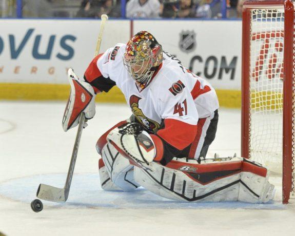 Craig Anderson, Ottawa Senators, NHL, Milestones