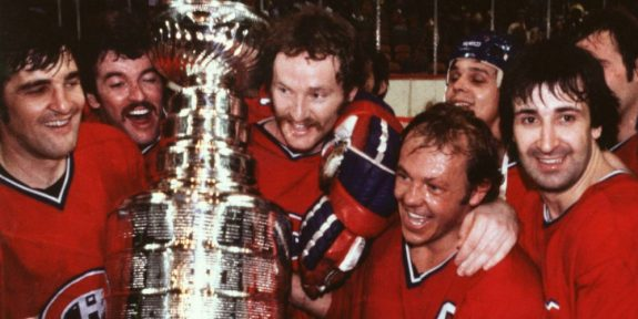 Canadiens hoisting yet another Stanley Cup