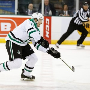 Dallas' third line isn't the same without Ryan Garbutt. (Michael Connell/Texas Stars Hockey)